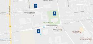 Parkmöglichkeiten am Theater im Gymnasium